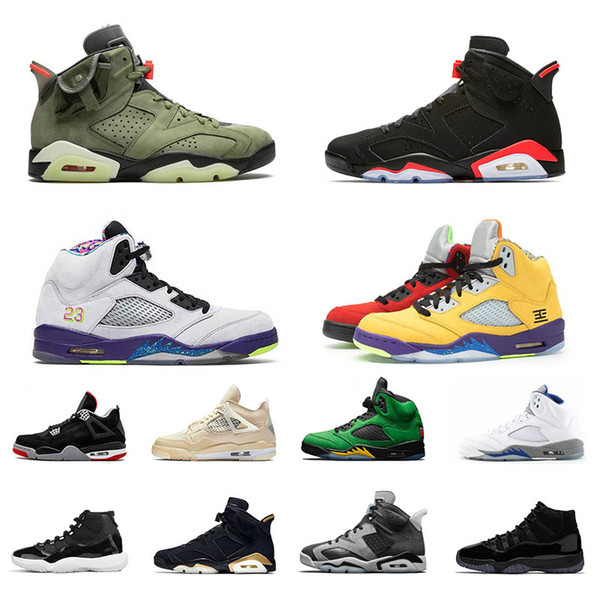 men basketball shoes Reflective 6s black Infrared 4s Bred 5s what the Alternate Bel 3s Fire Red Denim 11 11s WMNS Sports sneakers