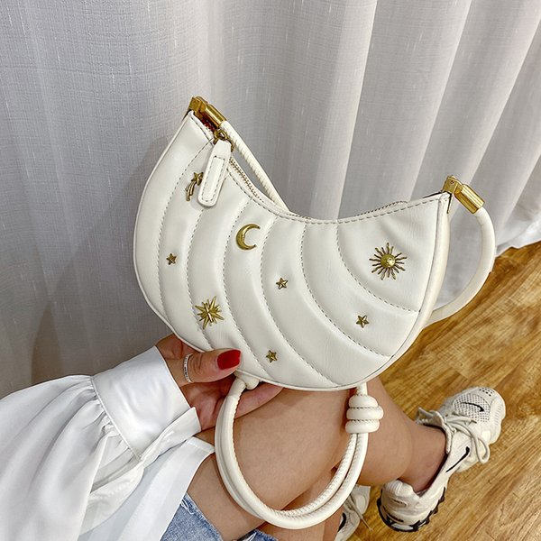 summer ladies' small bags 2020 new fashion all-match shoulder french messenger bag casual women purse and handbags (566808452) photo