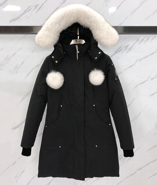 NEW Women Down Jacket 2019 Duck Down moose Jacket Coats Women Winter Puffer Jacket Keep Warm Portable Windproof knuckles Down Coat