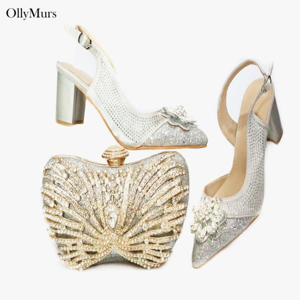 italian shoes and bags to match shoes with bag set fashion woman bag and set italy nigerian party with purse (585107792) photo