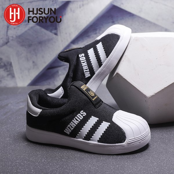 -New! hshoes, comfortable children's Shell head breathable baby slippers, casual sneakers for boys and
