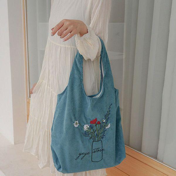 womens large canvas handbag shoulder bag tote ladies purse travel messenger hobo organizer storage pouch toiletry (590684449) photo