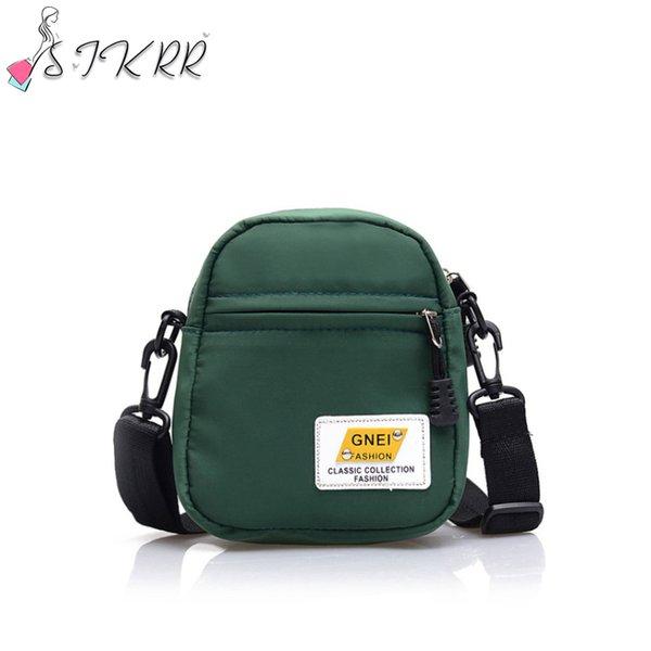 s.ikrr women mini nylon shoulder bag female small fashion solid purses crossbody bags zipper shell purse causal tote wholesale (589341212) photo