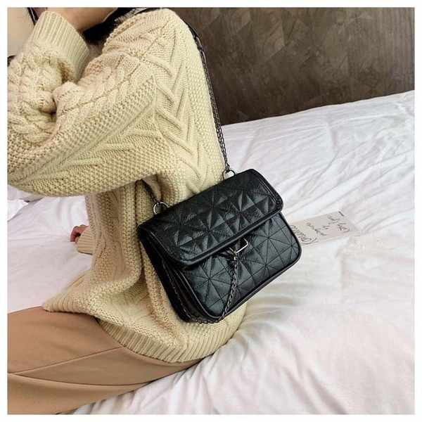 2020 new soft bag women bag messenger chain shoulder purses handbag purses and handbags (583022955) photo