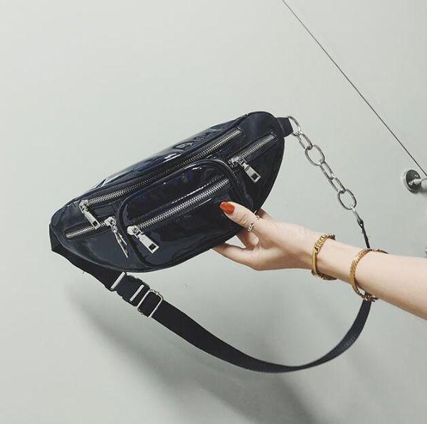 wholesale handbags purses wholesale women waist bag pu new fashion crossbody bag laser shoulder bags (584693463) photo