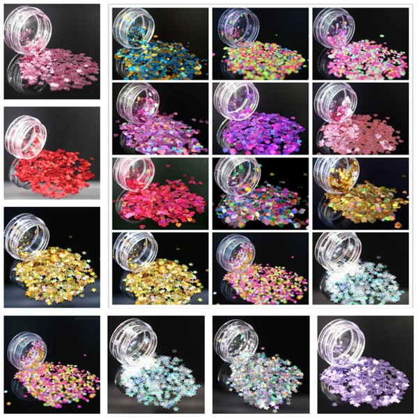 (1Pcs/Sell) Super Sparkle Ultrathin Sequins Colorful Nail Art Glitter Tips UV Gel 3D Nail Decoration Manicure DIY Accessories
