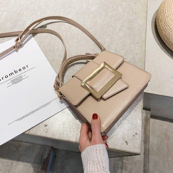 2020 new shoulder shoulder bag solid color handbag messenger bag handbag purses purses and handbags (584981168) photo