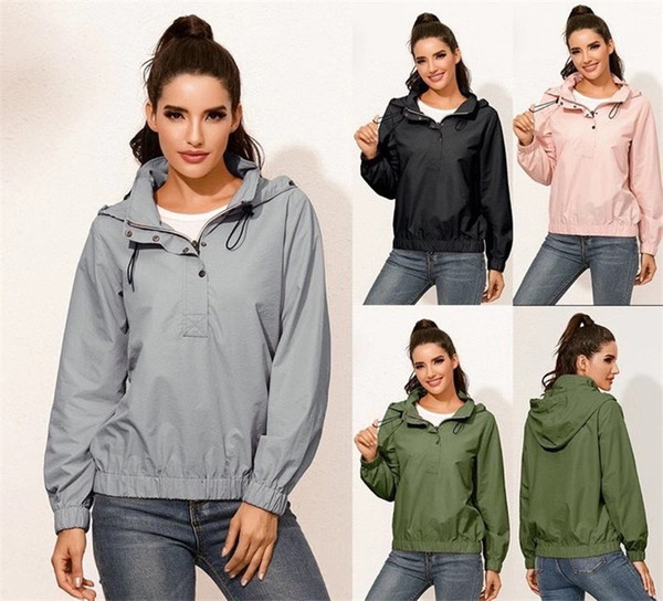 4 Color Brand Design Women Yoga Outfit Workout Jacket Autumn Winter Athletic Sport Hoodie Coats Drop Shipping