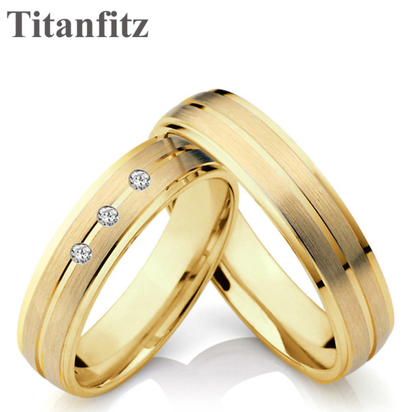 10 year wedding anniversary rings women stainless steel men ring with stone anel bague anillos