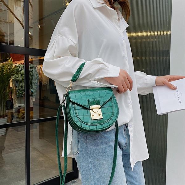 2020 new saddle bag shoulder bag shoulder purses and handbags womens handbags and purses (583755595) photo