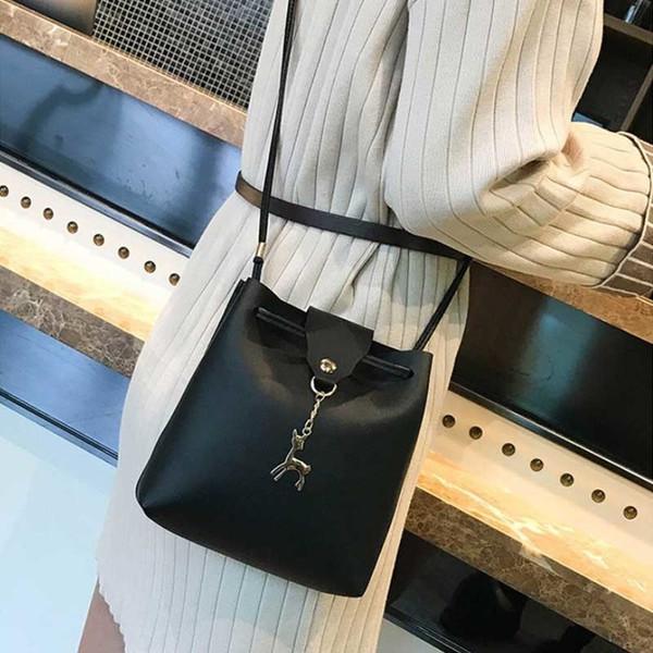 women handbag pu leather shoulder bags pu tote fashion purse messenger hobo satchel bag cross body (587745059) photo