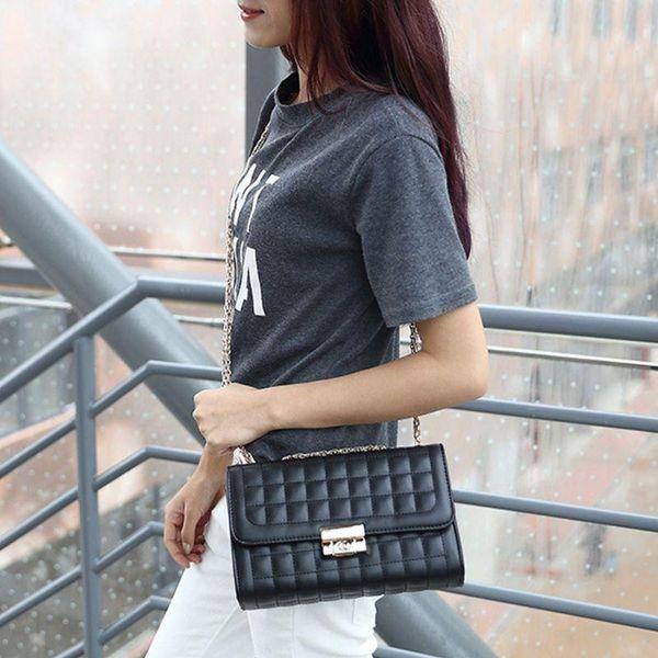 women ladies fashion chain crossbody bag shoulder bags tote purse hobo handbag messenger (591508847) photo