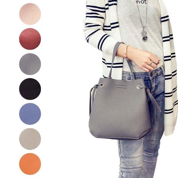 2 pcs fashion women pu leather shoulder messenger bag with handbag purse office casual tote bags fa$b women bag (599566741) photo