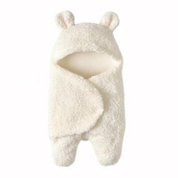0-12m Newborns Baby Blanket Newborn Baby Swaddle Wrap Soft Winter Bedding Receiving Blanket Sleeping Bag 1pc