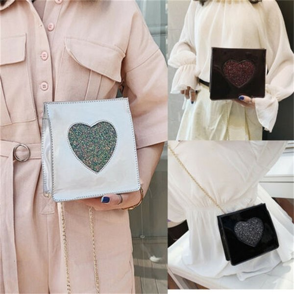 fashion handbag pu shoulder messenger satchel tote purse bags crossbody versatile love bag women new handbags (591259980) photo