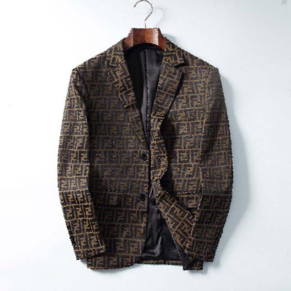 2020 New Mens Suits Blazer Italy Paris Mens Luxury Jacket Brand Long Sleeve Fashion Jackets Mens Suit Jacket Elegant Wedding Dress jacket
