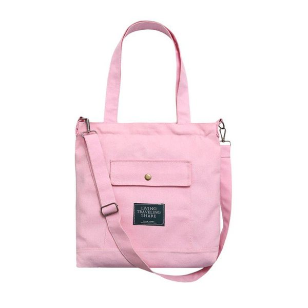 fashionable women messenger crossbody hobo satchel purse shoulder bag canvas handbag (591473133) photo
