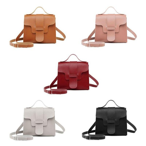 new women handbag shoulder bags tote purse pu leather ladies messenger hobo crossbody (595442899) photo