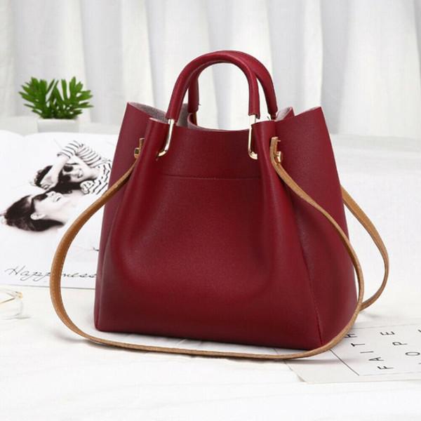 women leather bags purse fashion shoulder handbag tote purse messenger casual hobo satchel bag cross body (597854587) photo