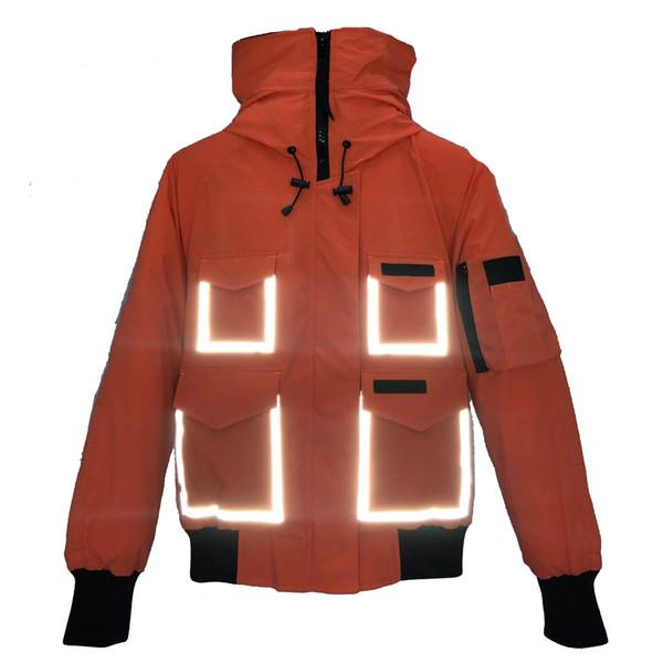 Best Orange Owl Outerwear Designer GOOSE Sports Mens Womens Coats Yellow Black Parkas Brands Down Sneakers Size XS-XXL Dust Bag Tag