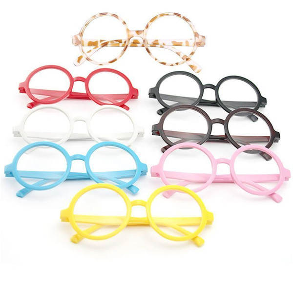 (2in Lenses) Star Power HP Wizard Glasses, Round Frame Glasses Fashion Nerd Geek Eyewear Eyeglasses KIDS TOY