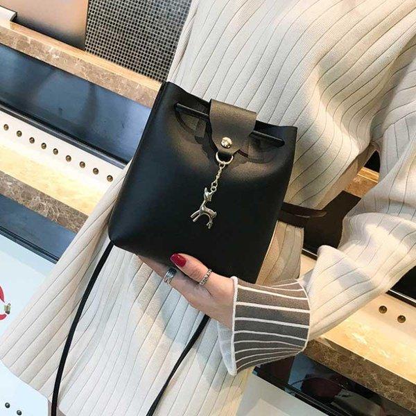 jhd new women handbag shoulder bags tote purse messenger hobo satchel bag cross body(black) (599561823) photo