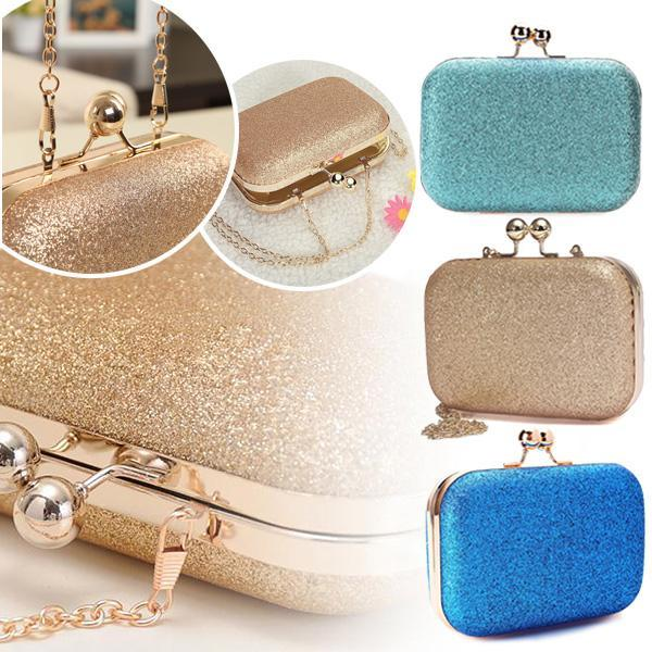 2020 new women evening bag glittered clutch wallet wedding purse party banquet shoulder messenger bags fa$b women bag (600860556) photo