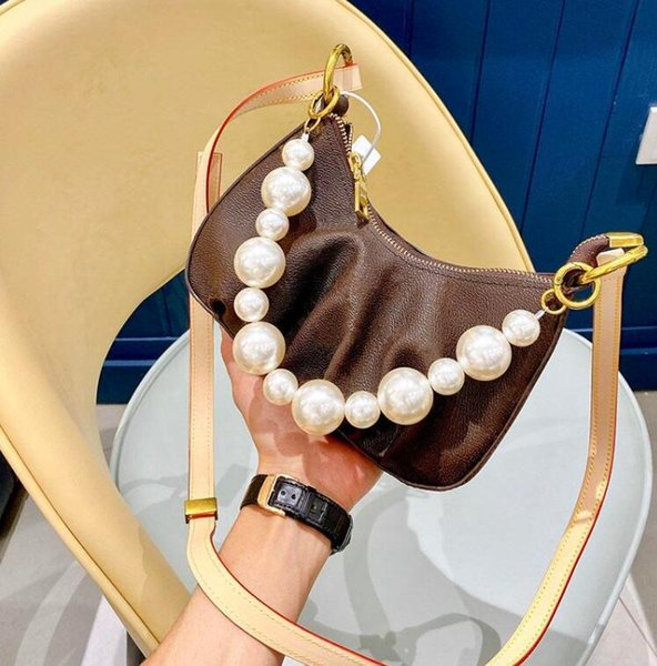 2020 women shoulder bags l flower pearl style ladies purses bag lady purses fashion bag (599192437) photo