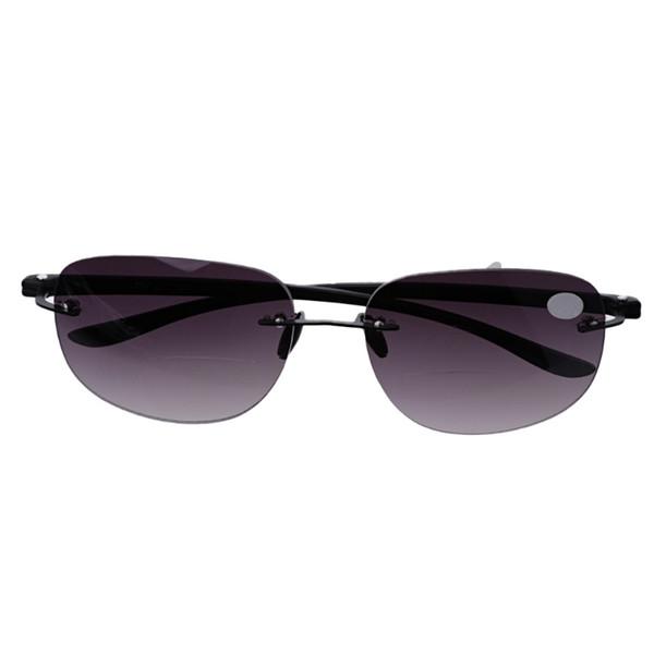 +1.0 New Outdoor Rimless Fishing Bifocal Sunglasses To Readers +3.5 Oculos de leitura, Reading Glasses Men