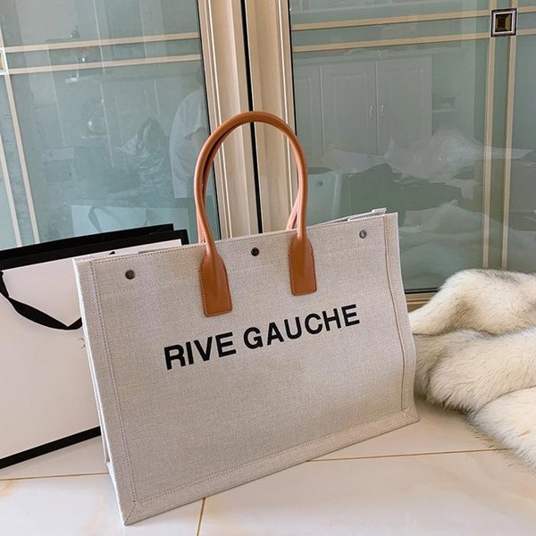 2020 classic tote handbag purse y purse canvas material ladies shopping bag fashion totes lady purse handbag shopping bags (599532096) photo