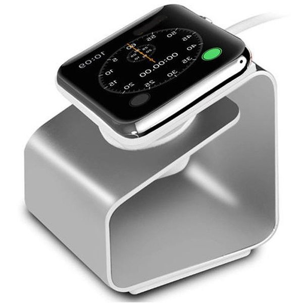 Aluminum Portable Stand For Apple Watch Charger Station Dock Iwatch Series 3 4 5 Se 6 Wireless Apple Watch Charging Stand sqcouq bdefashion When your order mixed more USD300, will send with fast shipping: DHL, Fedex,or TNT etc Material:as show color:as photo YY