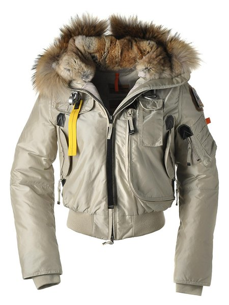 Hot Sale Luxury Parajumpers women's down Jacket Hoodies Fur Fashionable Winter Coats Warm Parka Free shipping