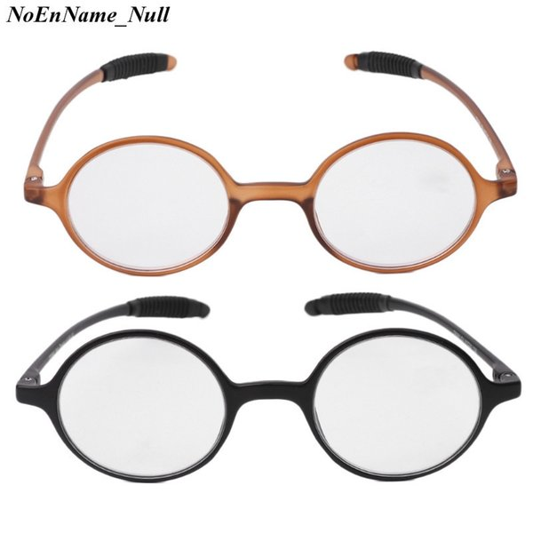 +1.0~+4.0 Lightweight Presbyopia TR90 Resin Round Eyeglasses Reading Glasses