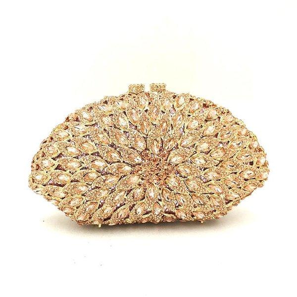 design women evening party handbag diamonds elegant purses luxury clutch nigeria bridal wedding party crystal purses bag (599988948) photo