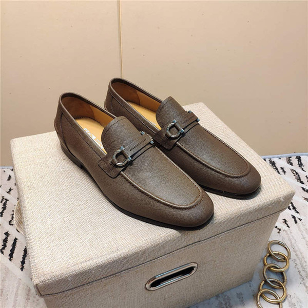 2020 NEW Designer MensFerragamo#13;Sneakers Trainers Luxurys Scarpe Firmate Business casual shoes zapatos hombre Tb807-260