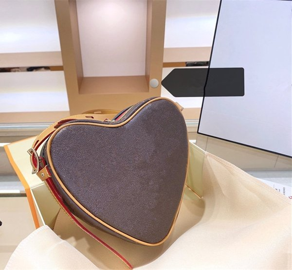 new arrival designer bags handbags luxury women leather purse l flower purses heart purse valentine's day gift (599190039) photo