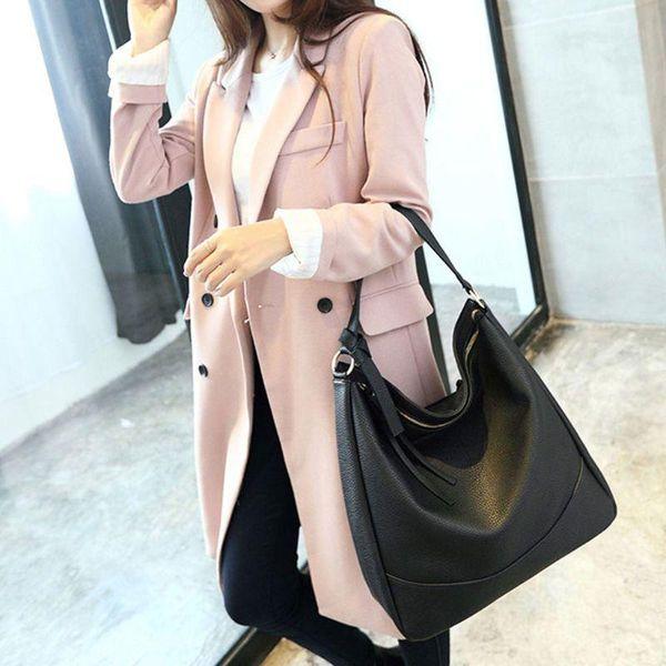vintage handbag lady shoulder bag tote purse pu leather women messenger hobo tote purse bags m5te (600861782) photo