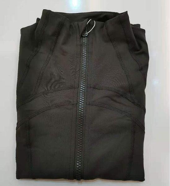 Top fabric Women's Workout Yoga Jacket Full Zip Running Track Jacket