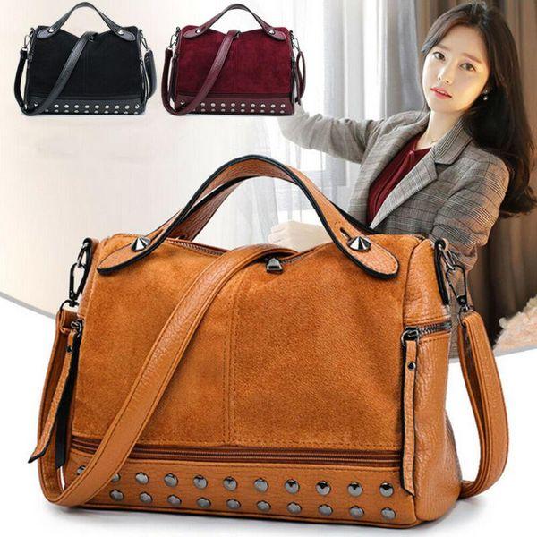 new fashion designer women large pu leather handbags shoulder bags messenger hobo tote purse (597881971) photo