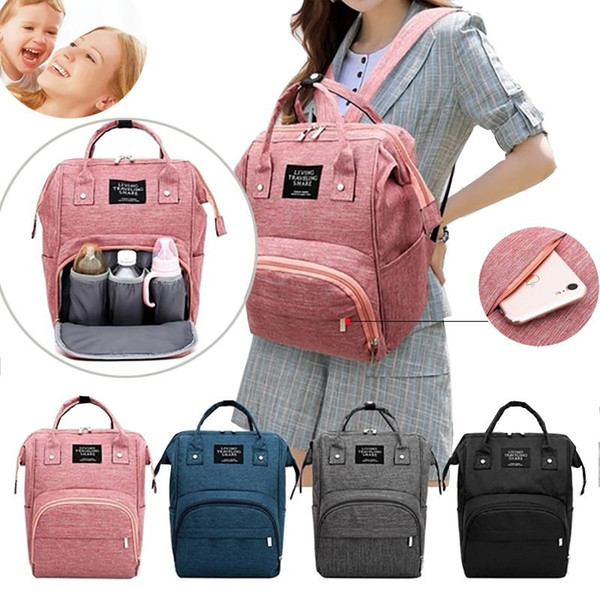 2020 Fashion Mummy Maternity Nappy Bag Large Capacity Nappy Bag Travel Backpack Nursing For Baby Care Women's Fashion