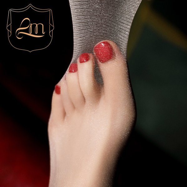 """""""New product open test"""" laimian star seamless sexy pearly flash crotch 3D ultra thin silk socks pantyhose"""