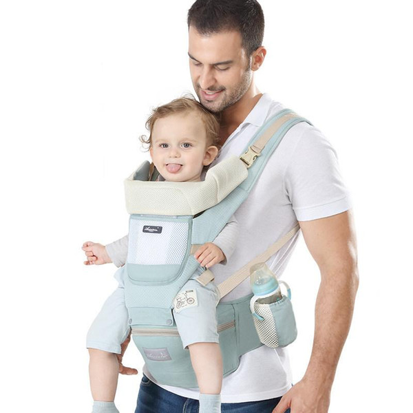 0-36m Infant Sling With Storage Function Waist Stool Four Seasons Universal Multiple Combinations Baby Breathable Carrier