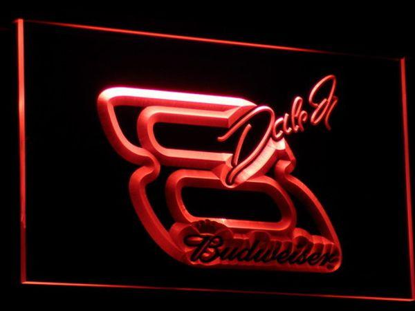 A109 NASCAR # 8 Дейл Эрнхардт Бар Пиво LED Знак Неонового Света Wholeseller Dropship Бесплатная Дос фото