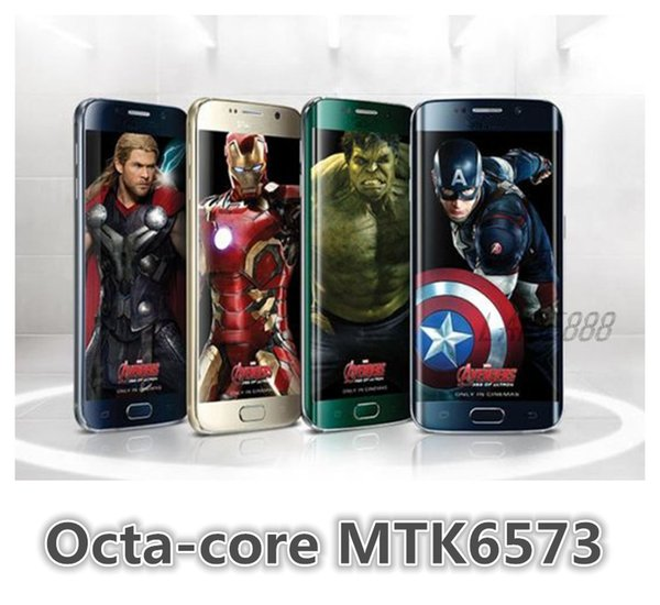 Metal Frame HDC S6 1: 1 G9200 4G LTE 32GB 3GB Octa Nucleo MTK6592 1.3GHz Android 5.0 KitKat 5.1 pollici 1280 * 720 3G WCDMA 8.0MP Smart Camera Phone