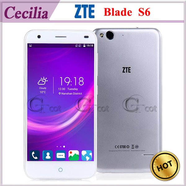 Смартфон ZTE Blade S6. Android 5.0 OS. 4G LTE. Процессор Qualcomm Octa Core 2G Ram 16G ROM. Экран 5.0