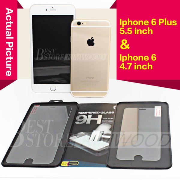 Iphone 6 Plus Iphone 6S Inoltre 5S Samsung Galaxy S6 nota 5 superiore vetro temperato Screen Protector 0.2MM 9H 2.5D