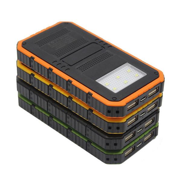 2019 20000mah  olar power bank ultra thin highlight led  olar power bank  2a output cell phone portable charger  olar powerbank  hippi