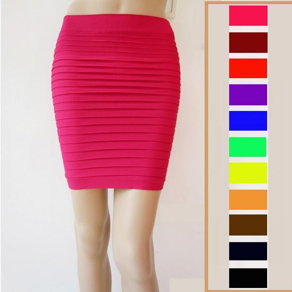Mini Skirts  Bodycon Pleated and Sequin Short Skirts