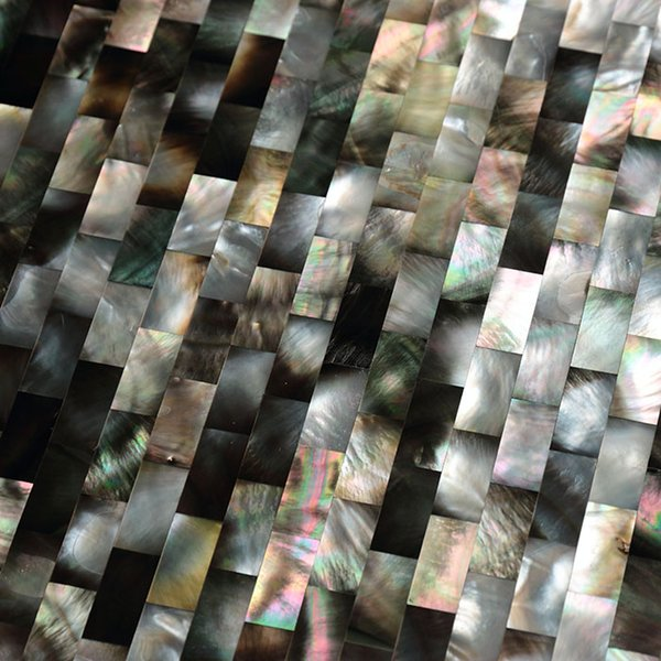 10 х 20 мм кирпичный узор естественный цвет перламутровая раковина мозаика ванная комната туалет настенная плитка кухня backsplash плитка#MS022