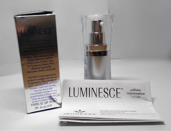 venda quente Jeunesse luminescente rejuvenescimento celular Serum 0,5 onças / 15mL caixa selada transporte livre